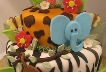 cakes / by Shanda Hampton