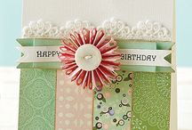Scrapbooking Cards / by Cathryn Hanson