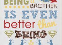 Big brother Rhett / by Heather Deuel