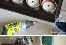 Crafty Ideas with Jars / by Melissa Dery (The Golden Rule VA)