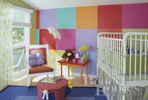 Home-Nursery & Toddler Bedrooms / by Jill Prine-Fisher