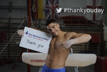#thankyouday / 'Thank You Day' is a celebration of Lottery players' investment in sport since 1997, with billions of pounds having been invested at grassroots, community and elite levels through Lottery distributors. / by Lottery Good Causes