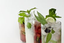 Refreshments / Splash your tongue with any of these delectable drinks to quench your thirst with a sweet touch of fruit. Easy to make and certain to gain compliments from company. / by Circulon