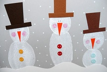 Jan./New Year's Day/Snowmen/MLK, Jr. / by Sherry McMahan