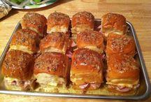 Breads,sandwiches & pizza / by Lois Applebaum