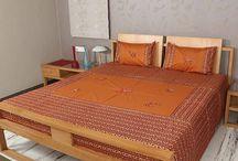 Bedsheet / Designer Bed Sheets Sets / by Rajrang