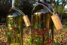 wine bottle craft / by Sara Davey