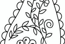 DESEN/Embroidery Pattern  / by zehra saldırdak