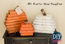 Fall Decor / Falling in love with fall with cute decor.  / by Amberly Johnson
