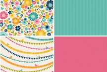 Sunnyside Collection / Sunnyside Collection, released Summer 2012. #sunshine #papercrafts #happy #scrapbooking / by Pebbles Inc.