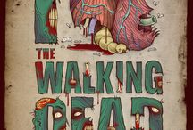 the walking dead / by Kate Forsyth