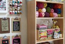 Craft rooms / by Patrícia Azevedo