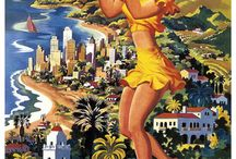 Memories of a transplanted CALIFORNIA GIRL! / My beloved Southern California (before and after my arrival in 1964) / by Jill