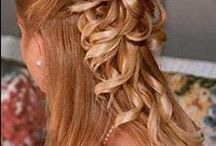 Hair, makeup and jewelry  / by Tina