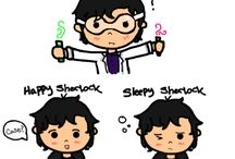 sherlocked / by Jennifer Fitz