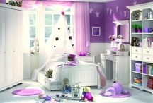 Girls Bedrooms / by Cindy Cook