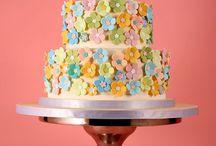 Flower cakes / by Darlene - Make Fabulous Cakes