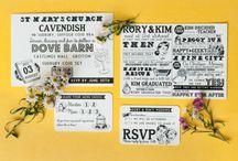 Wedding Stationery / by Whimsical Wonderland Weddings