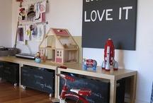 Playroom Ideas  / by Nichole Pierce Swift