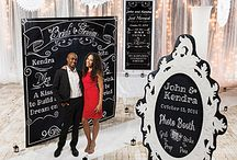 Chalkboard Wedding Party / Bring a Chalkboard theme to your BIG DAY easily with Shindigz personalized party supplies. / by Shindigz
