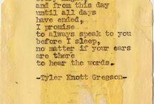 Words / by Aubrey Lozano