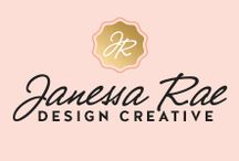 Janessa Rae Design Creative / Graphic Design • Web Design • Brand Styling, Website Coming Soon! JANESSARAE.COM IS BEING DESIGNED, BUT OUR DOORS ARE OPEN FOR BUSINESS. Email me at janessa@janessarae.com to get in touch with me about a project. I specialize in working with creative entrepreneurs, small businesses, start-ups, and non-profits. I'd be honored to be a part of your brand journey. Thank you! / by Janessa Rae Slangen