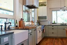 Hedgy Kitchen / Remodeling our farmhouse kitchen ...  / by Rachael Bower