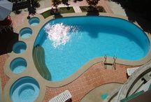 Awesome shaped pools / by DeAnn Madden