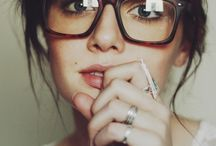 Glasses / Glasögon  / Fashion accessoar that I love / by Sarah Larsson Bernhardt