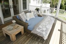 Outdoor bed / by Charlooo