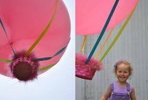 Balloon crafts / by bestforkids