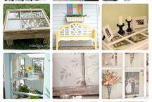 Jars, pallets, windows, burlap... / by Michelle Gonzales