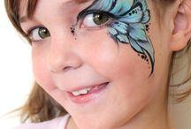 Face paint / by Jasmine Natalie Kaur