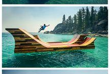 Skateboard / ....dream for dream / by Julio Andreo