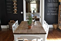 Dining room / by Brooke Drellos