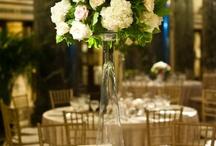 Tall Wedding Centerpiece Flowers / by Fleurs De France