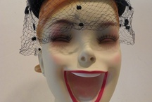 hat stands and mannequin heads / by Susan Foltz