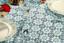 Crocheted Tablecloths / by Joellen Watkins