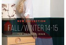 Fall Winter 2014/15 - October Issue - Lookbook / Fall Winter 2014/15 - October Issue - Lookbook / by Fullah Sugah