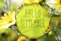Hello September and Fresh Starts / by Lisa Yost