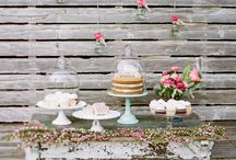 Cake & Dessert Tables / Every party/wedding/shindig should have one! / by Celia Lacy