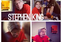 Stephen King / Stephen King - invité exceptionnel du Mouv'. Découvrez les photos de l'interview / by Le Mouv'