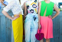 a style | spring + summer / bold pops of color for your spring + summer wardrobe! / by Mae Badiyan