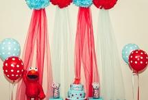 Elmo Birthday Party / by Alissa Riley
