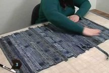 Craft made with jeans / by Sylvianne Dumont Boucher