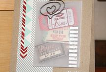 Simon Says Stamp Card Kit Inspiration / Cards made from the Simon Says Stamp monthly card kits / by Gina E