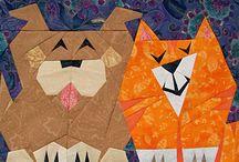 paper piecing / by JoAnn N******