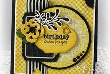 Birthday Card Ideas / by SueGeeQ