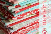 Fabric I Heart / by Sherri McConnell: A Quilting Life Blog