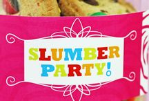 Pi's Slumber Party Ideas / by Amy Barton